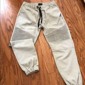 Other - Gray drawstring joggers